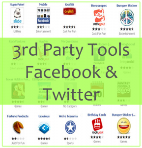 3rd party facebook and twitter.fw