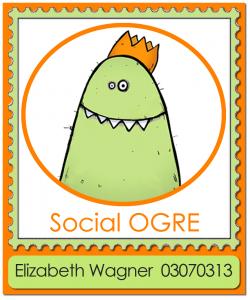 LIZ WAGNER social ogre badge.fw