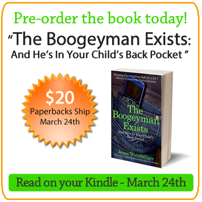 The Boogeyman Exists: Internet Safety book for parents by Jesse Weinberger