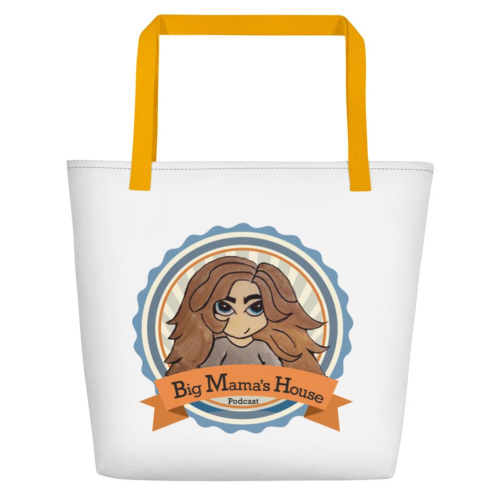 Beach Bag – Big Mama's Podcast Logo